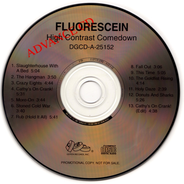 Fluorescein - High Contrast Comedown cover of release